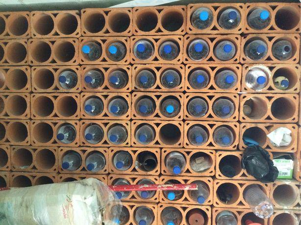 Tijolos para garrafeira