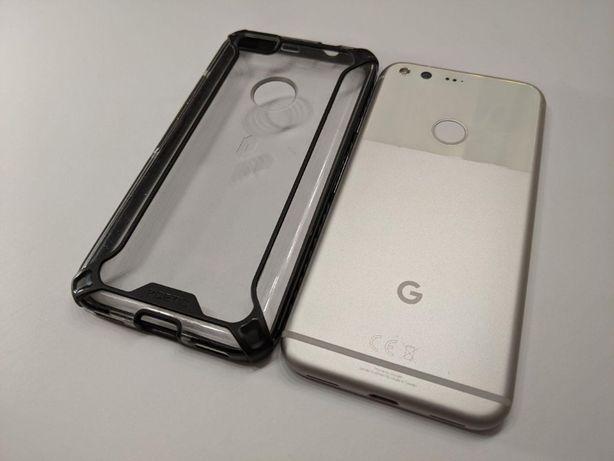 Телефон Google Pixel 2016 4/128 GB White / NFC + чехол + стекло