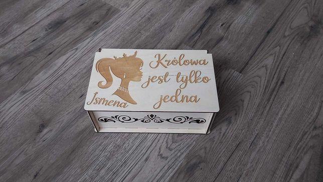 Pudełka na drobiazgi personalizowane - urodziny, podziękowania, ślub