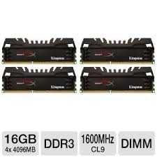 Оперативная память HyperX Beast DDR3 16GB