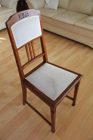 stół z krzesłami- komplet