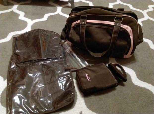 torba do wózka i na wyjazd dla mamy i dziecka babyono