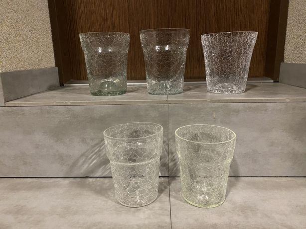 Szklane doniczki/osłonki do storczyka