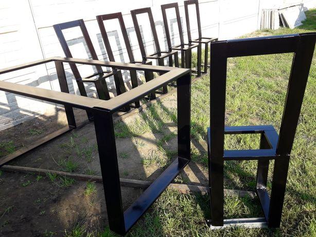 Stół krzesła Industrial