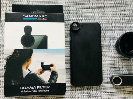 Sandmarc Obiektyw szerokokątny Wide Lens do iPhone 8 z Etui