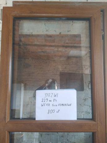 Drzwi Veka 6komorowe