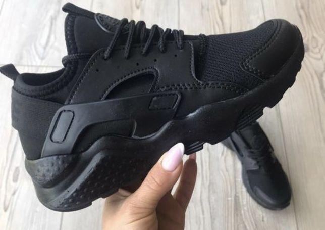 Nike Huarache. Rozmiar 37. Czarne. PROMOCJA! NOWE BUTY