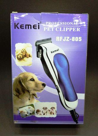 Kemei RFJZ 805 Нова машинка для грумінгу та стрижки тварин від мережі