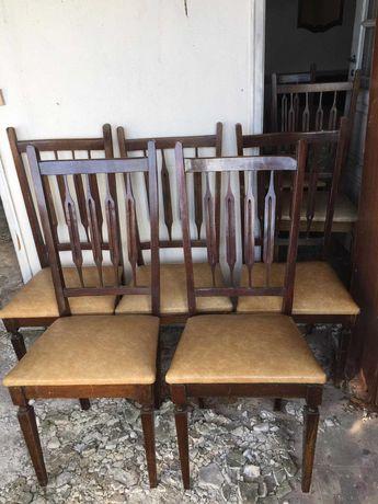 Retirada imediata - Conjunto de 7 cadeiras para mesa de sala de jantar