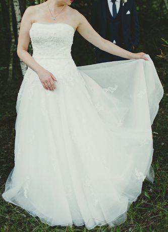 Prześliczna suknia ślubna firmy Sincerity Bridal