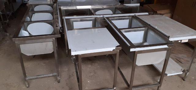 Мебель из нержавеющей стали, столы, мойки, полки, стеллажи