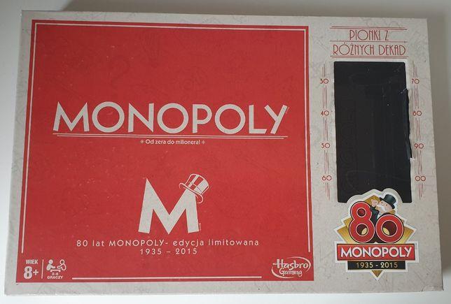 Monopoly - edycja na 80. wydania pierwszej gry