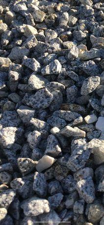 grys granitowy dalmatyńczyk kamień ozdobny kruszywo ogród 16-22