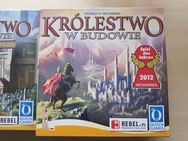 Królestwo w budowie + Nomadzi + Kapitol + Jaskinia + gratis