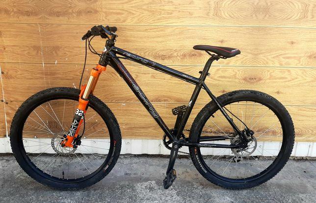 Велосипед Tbr racing на повітряній вилці 140мм ,  гідравліка