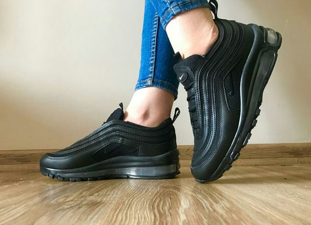 Buty Nike 97. Rozmiar 40. Kolor cały czarny. Zapraszamy