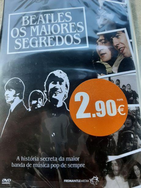 Dvd Beatles os maiores segredos (novo)