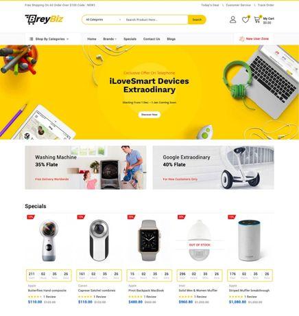 Создание интернет-магазина - под ключ - от 1200 грн
