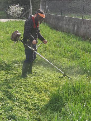 Limpezas gerais {terrenos,jardins é muito mais}