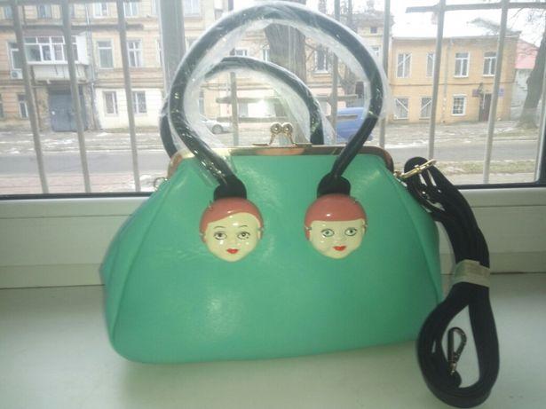 сумка яркая новая