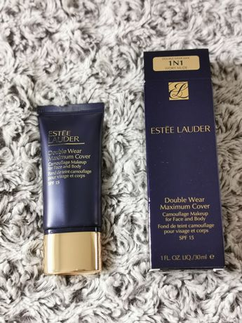 Nowy podkład Estee Lauder Double Wear Maximum Cover 1N1 Ivory Nude
