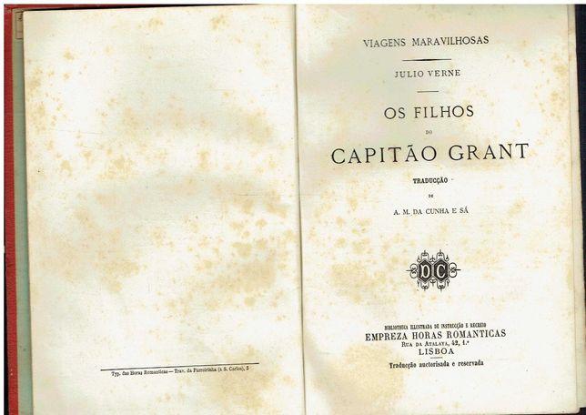 8025  Os Filhos do capitão Grant - 3 Vols de Júlio Verne