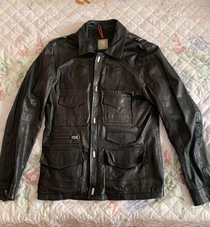 Кожаная куртка Yes London (размер L)