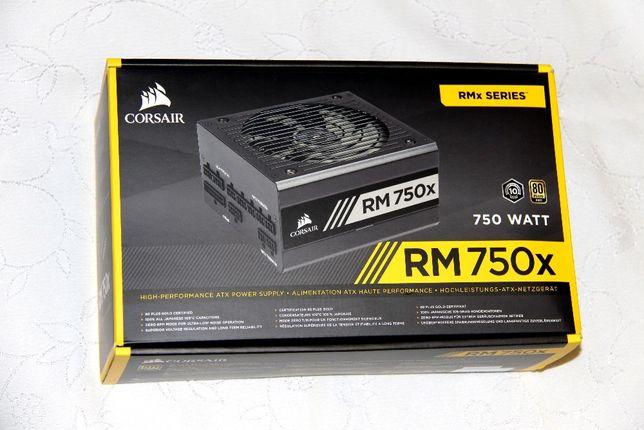 НОВЫЙ Блок Питания Corsair RMx 750W CP-9020179-EU (CP-9020179-EU) Gold