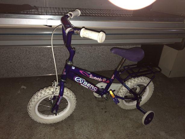 Bicicleta BERG criança com rodinhas