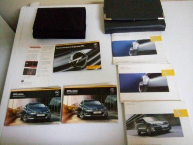 Livro de instruções de Opel Astra