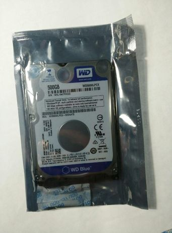 "Жесткий диск WD Blue 500GB 5400rpm WD5000LPCX 2.5"" SATAIII"