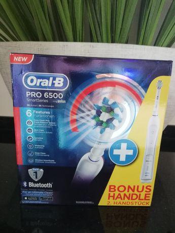 Szczoteczki elektryczne 2szt Oral-B Pro 6500 Smart
