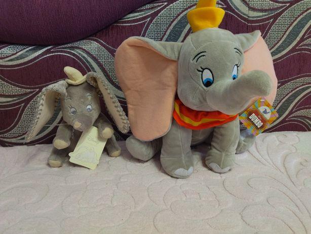 Игрушка мягкая слонёнок Дамбо Dumbo disney Дисней новая