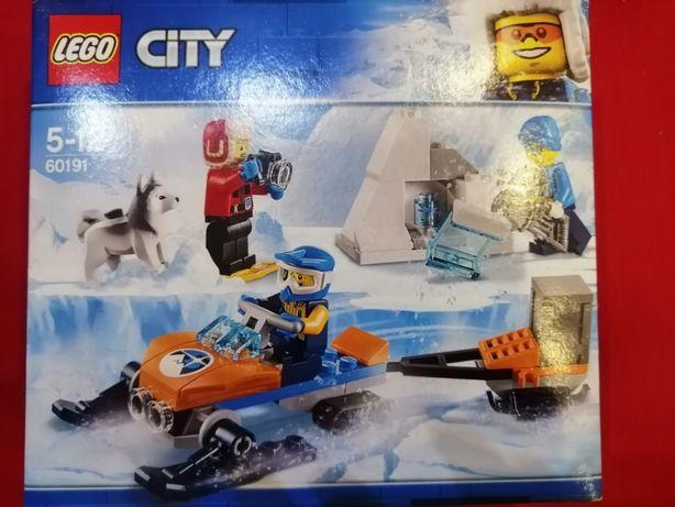 Lego City zimowe klimaty