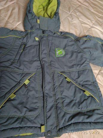 Куртка дитяча 134 зимняя
