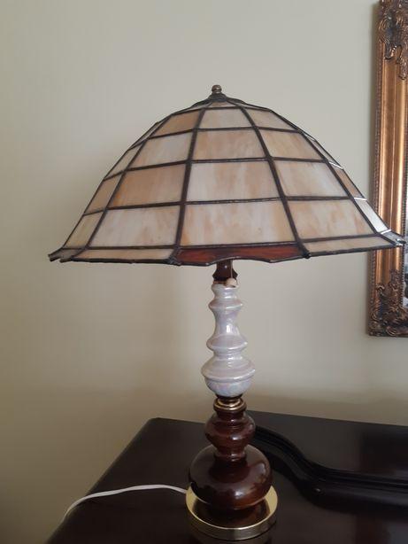 Lampa z kloszem Tiffany