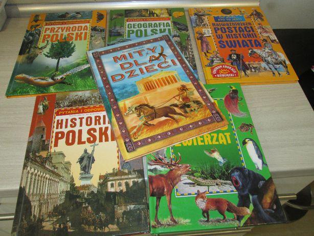 Książki zestaw pytania i odpowiedzi