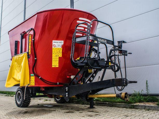 Wóz paszowy paszowóz METAL-TECH WP 12 m3 OKAZJA | Metalfach Strautmann