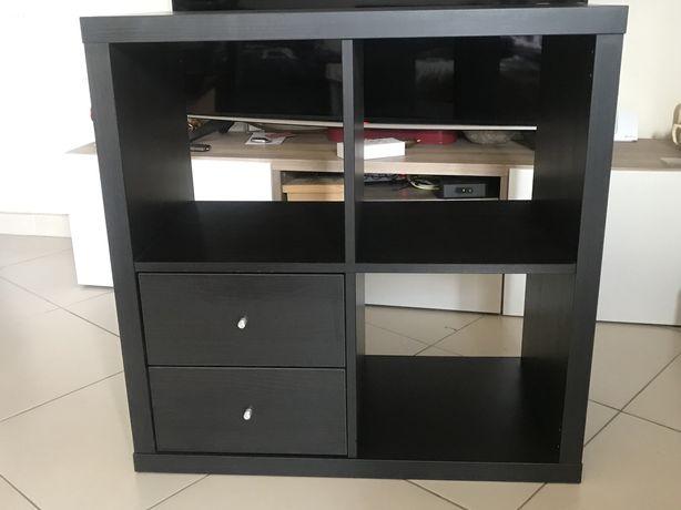 Estante Kallax preta Ikea
