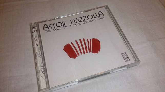 astor piazzolla (the soul of tango - greatest hits) 2 cds
