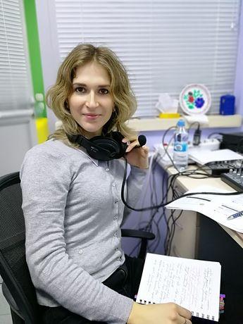 Устный/онлайн перевод, нотариальное заверение, English interpreter