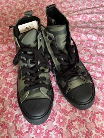 Ботинки кеды Zara 36-37 размер