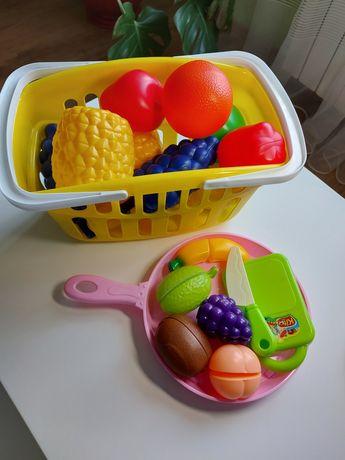 Дитячі іграшки корзина з фруктами