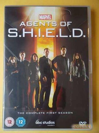 DVD Marvel Agents of S.H.I.E.L.D. Séries 1, 2, 3