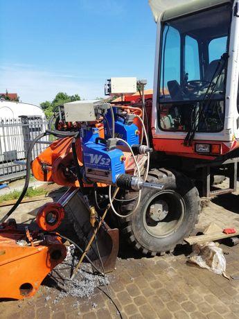 Tulejowanie napawanie regeneracja otworów maszyny budowlane rolnicze