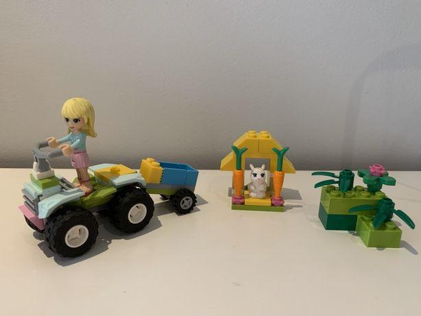LEGO Friends 3935 auto dla zwierząt królik