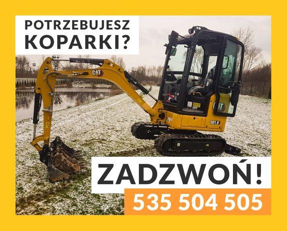 Usługi Minikoparką  Chełm Woj Lubelskie Solidnie F-ra Vat