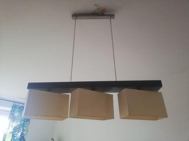 Lampa wisząca 3 żarówki