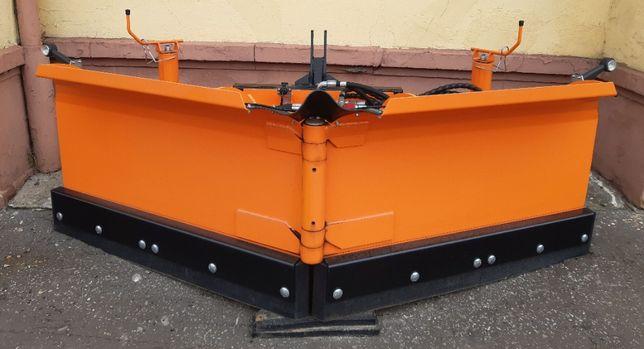 Pług odśnieżny do śniegu Pronar PUV 2600 odśnieżania akcja zima koła