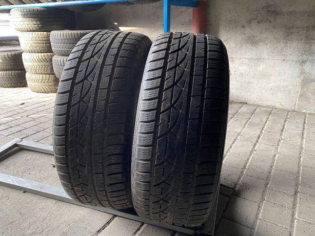 зима 225\55\R17 6,8мм Hankook 2шт шины шини